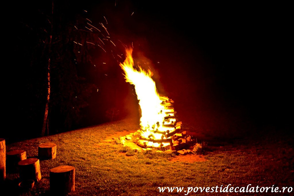 """The fire of Sumedru"", a Romanian tradition of 2000 years old"